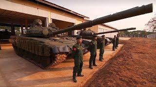 Военная приемка в Мьянме. Воины Будды. Часть I