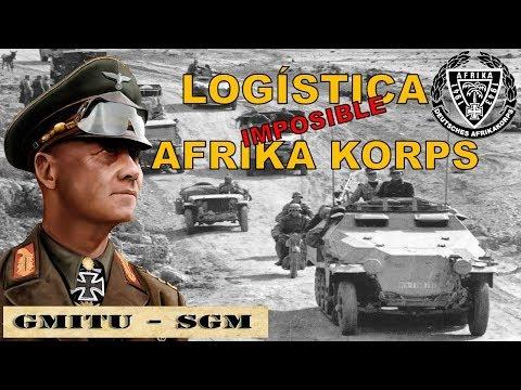 Logística Imposible del Afrika Korps de Rommel