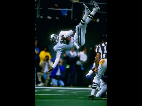 Randall Cunningham Flips into the Endzone vs Giants 1989