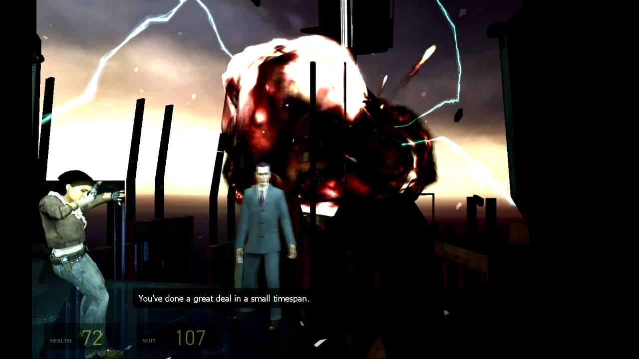 Half Life 2 Ending And Final Chapter Dark Energy Part 2 Hd Youtube