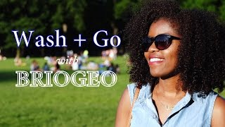 Summertime Wash & Go with Briogeo | First Impression Review | Natural Hair | MissT1806