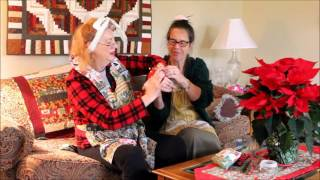 Wilda and Wilda the Quilting Ladies - Elf on the Shelf