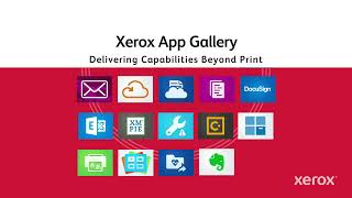 Xerox AltaLink 8100 Series: Multi-Function Printers For The Connected Workforce