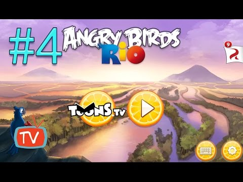 Angry Birds Rio 2 - Part 4 Blossom River - Gameplay walktrough