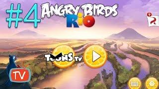 Angry Birds Rio 2 - Part 4 Blossom River - Gameplay walktrough