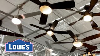 Ceiling Fans at Lowe's