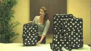 Rockland  F46 Expandable 4-Piece Luggage Set Thumbnail