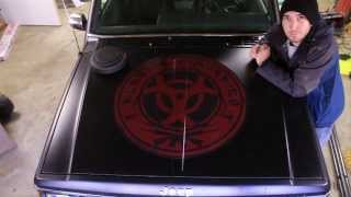 How to Install a Large Vinyl Decal or Hood Sticker | Applical.com