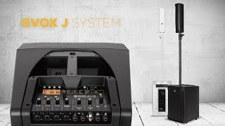 RCF EVOX J Active Two-Way Array Music System