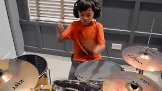 Video R. City ft.  Adam Levine - Locked Away (Drum Cover) download MP3, 3GP, MP4, WEBM, AVI, FLV Desember 2017