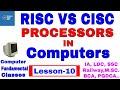 RISC vs CISC computer processors Explained | CLASS 10
