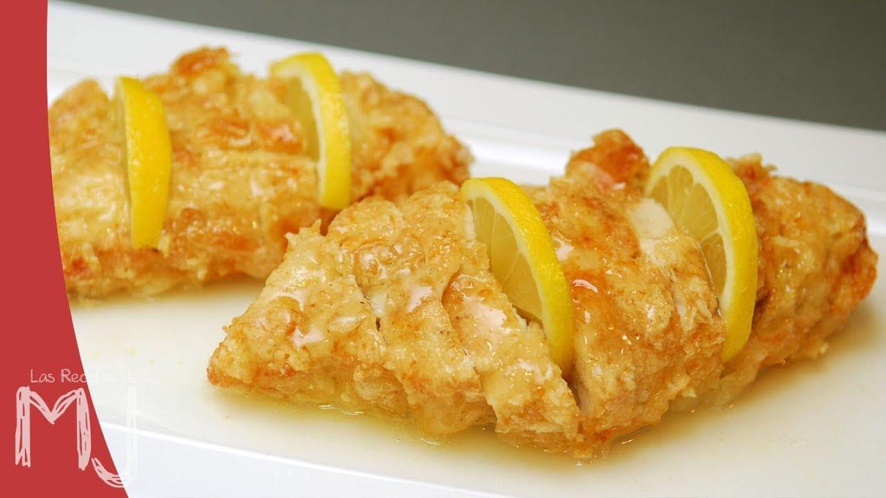 Pollo al lim n estilo chino receta f cil youtube - Salsa de pollo al limon ...