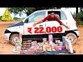 ₹22,000 DIWALI STASH | गाड़ी में डालकर एक साथ उड़ाया | SABSE BADA DHAMAKA |