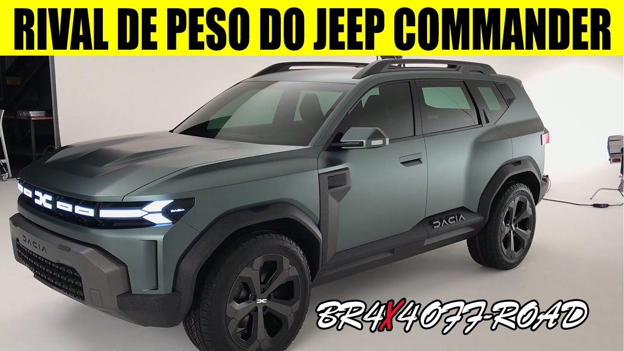 Download NOVO SUV RENAULT BIGSTER TURBO DE 7 LUGARES - RIVAL DO JEEP COMMANDER