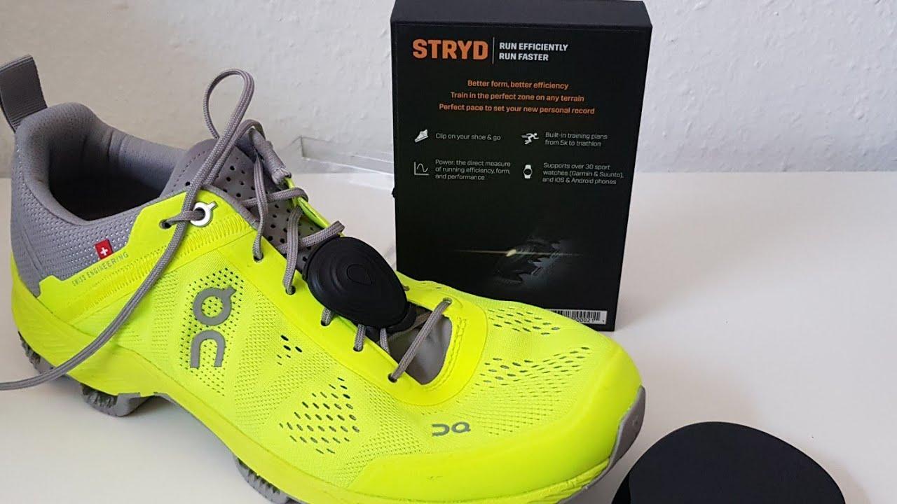 Stryd Footpod Powermessen beim Laufen - kleiner Überblick