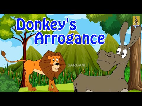 Donkey's Arrogance - a story from Punnara Malayalam Kids Animation Movie
