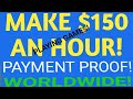 MAKE $150 AN HOUR TO PLAY GAMES! In 2019. WORLDWIDE! Payment Proof! PLUS FREE GAMES AND CONSOLES!