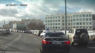 A023MP97 'барин едет' - пом.президента Абрамов А.С. с челядью