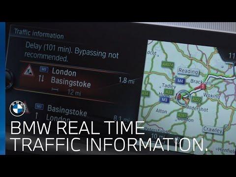 BMW Real Time Traffic Information (RTTI) | BMW UK