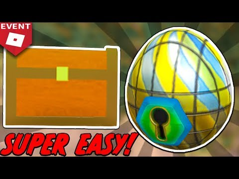 *EASIEST WAY* HOW TO GET THE STAINED GLASS EGG! (Roblox Egg Hunt 2018)