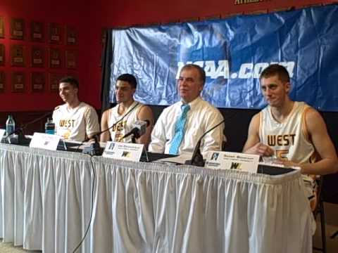 West Liberty after NCAA Regional Win over Concord