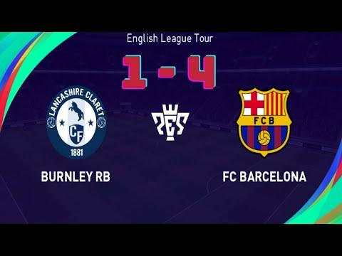Burnley RB vs Barcelona | eFootball PES 2021 | By Gaming Bd |