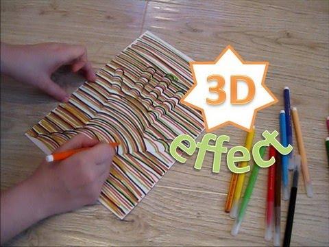 КАК НАРИСОВАТЬ РУКУ В 3D / How To Make A Hand In 3D