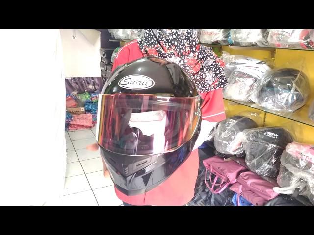 Helm Snail Fullface FFS1 Kaca Merah / Revo