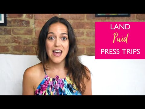 How To (Ethically) Land *Paid Press Trips* As A Travel Blogger [2018]