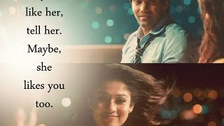 Raja Rani..... Climax BGM With Slideshow