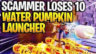 Scammer perd 10 lanceurs de citrouille d'eau! (Scammer Obtient Scammed) Fortnite sauver le monde