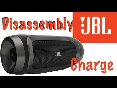 Disassembling JBL Charge