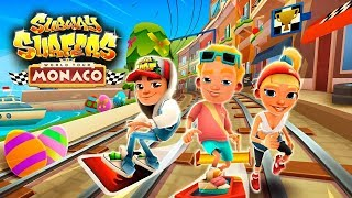 Subway Surfers Monaco 2018 Android Gameplay ИГРАЕМ В САБВЕЙ СЕРФ
