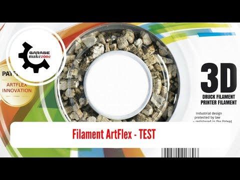 Filament Artflex PLA Test