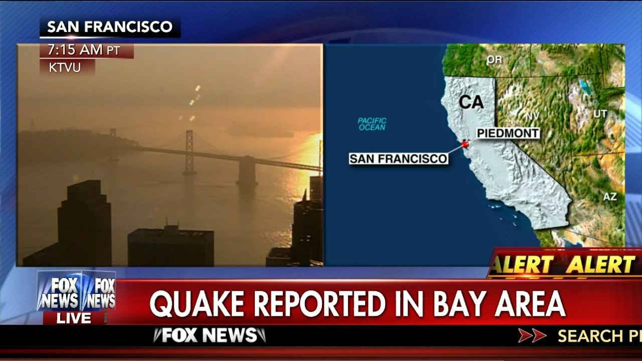 earthquake magnitude 4 0 earthquake strikes the san francisco bay area aug 17 2015 youtube