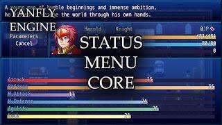 YEP.37 - Status Menu Core - RPG Maker MV