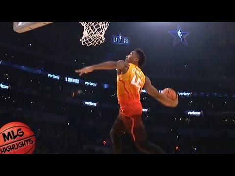 2018 Verizon Slam Dunk Contest - Final Round / Feb 17 / 2018 NBA All Star Weekend