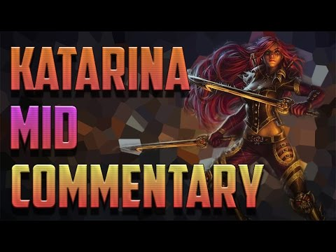 [Diamond 5] High Command Katarina Mid Pre-Season 6 Full Game Commentary - League of Legends