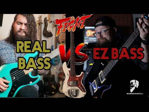 EZ Bass VS Session Bass Player (No Talking First Look)