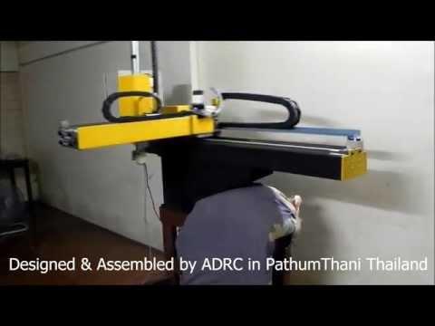 หุ่นยนต์อุตสาหกรรม / AHR Robot (Advance Servo Handling Robot ) Thai Industrial Robot
