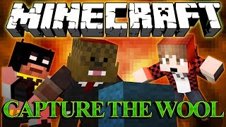 ABSOLUTELY RIDICULOUS Minecraft Capture The Wool Mod w/ BajanCanadian and xRPMx13