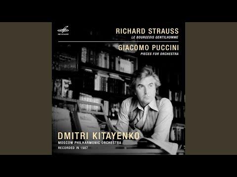 Der Bürger als Edelmann Suite, Op. 60-IIIa, TrV 228c: I. Overture