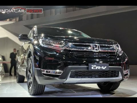 Honda CRV 2018 India - 7 Seater Diesel Model | Auto Expo 2018 | ICN Studio