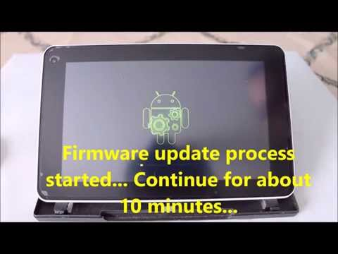 Huawei MediaPad 7 Lite - firmware update from SD-card