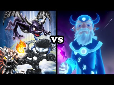 Skylanders Trap Team - Evil Skylanders VS Eon (Evilon) - REBELLION