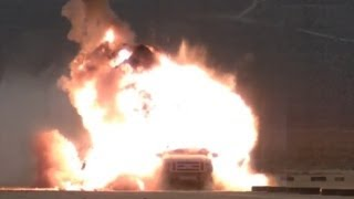 MQ-9 Reaper Fires Dual Mode Brimstone Missile [HD]