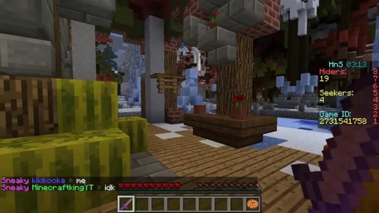 VERSTECKEN SPIELEN In Minecraft Morph Hide And Seek Craftkey - Minecraft verstecken spielen server