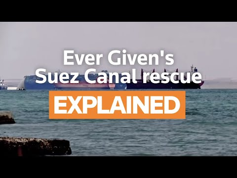 Explainer: How the Suez Canal ship was freed
