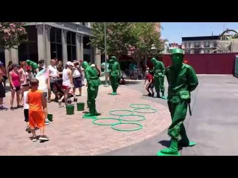 New Toy Story Green Army Men Recruitment- Disney's Hollywood Studios