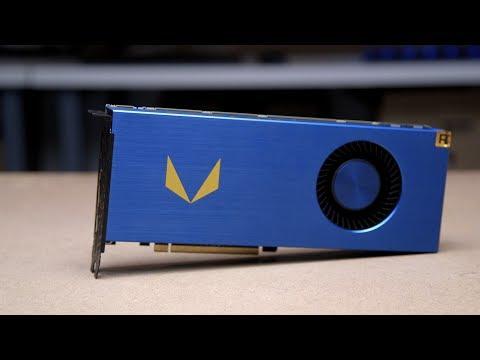 Radeon Vega Frontier Edition hands-on